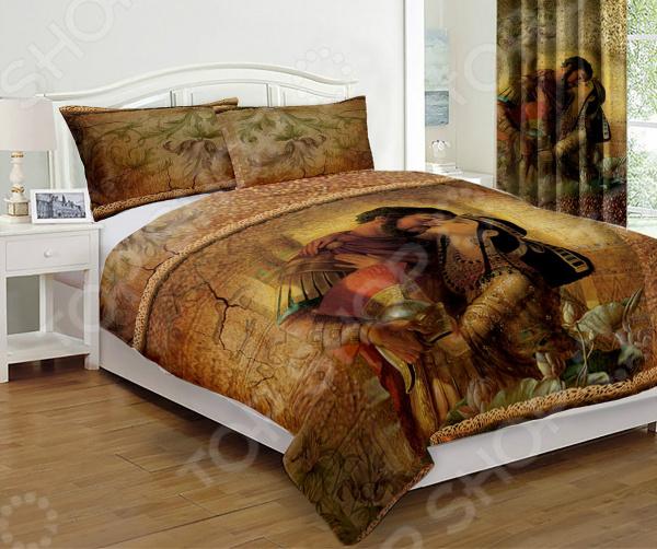 Комплект постельного белья «Голд». Евро