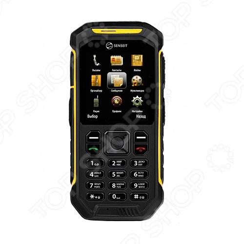 Мобильный телефон защищенный SENSEIT 300 мобильный телефон рация защищенный texet tm 515r