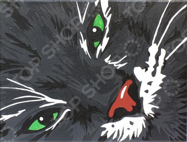 Набор для росписи по холсту Креатто «Кот Маркиз»