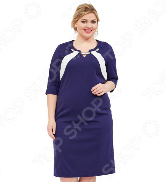 Платье Svesta «Леонарда». Цвет: темно-синий
