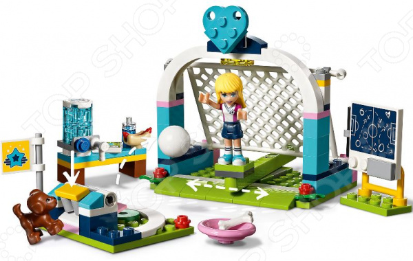 Конструктор игровой LEGO Friends «Футбольная тренировка Стефани»