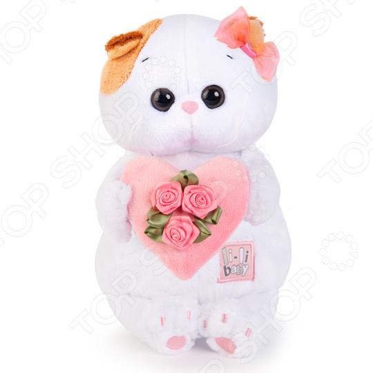 Мягкая игрушка BUDI BASA «Ли-Ли BABY с розовым сердечком»