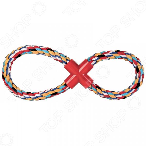 Игрушка для собак DEZZIE «Восьмерка» игрушка канатная mrpet восьмерка с мячем цвет желтый красный 25 см