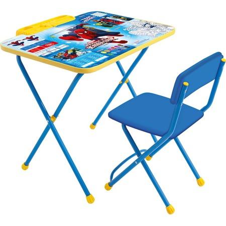 Купить Набор мебели детский: стол и стул Ника Marvel 2 «Великий Человек Паук»