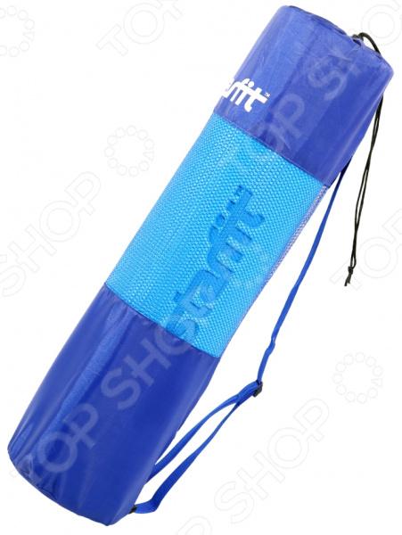 Cумка для ковриков Star Fit FA-301 стильный аксессуар, который по достоинству оценят поклонники йоги. Стильная и практичная сумка идеально подходит для хранения и переноски специального коврика или мата для йоги. Для вашего комфорта предусмотрен регулируемый ремень на плечо, который регулируются по длине. Вверху чехол затягивается веревкой. Клипса позволяет плотно зафиксировать чехол. Лаконичный и стильный дизайн является приятным бонусом.
