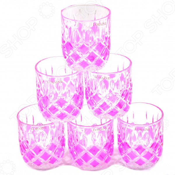 Набор стаканов Loraine LR-20221 набор стаканов для напитков salt