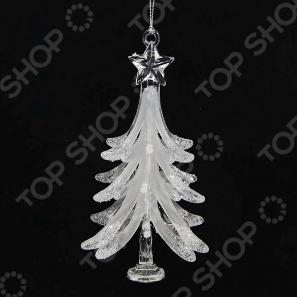 Новогоднее украшение Crystal Deco «Елочка»
