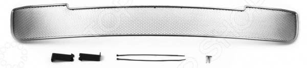 Сетка на бампер нешняя Arbori для Nissan Tiida, 2013-2015