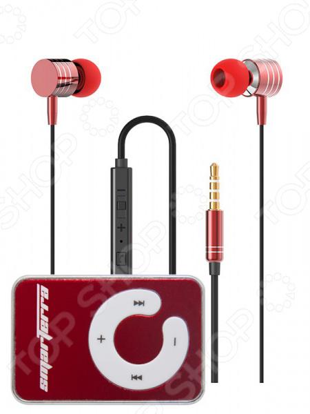 Гарнитура стерео Smarterra XQ-700MVC и Ska Red mp3 плееры smarterra mp3 player smarterra ska blue