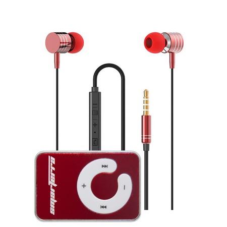 Купить Стереогарнитура с микрофоном. MP3 плеер в подарок