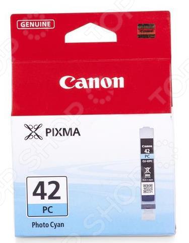 Картридж струйный Canon CLI-42PC картридж для принтера canon cli 8r 0626b024 red