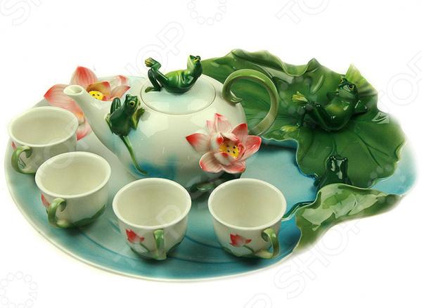Набор для чайной церемонии «Лягушка»