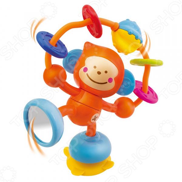 Игрушка развивающая для малыша B kids «Веселая обезьянка» игрушка черепашка b kids