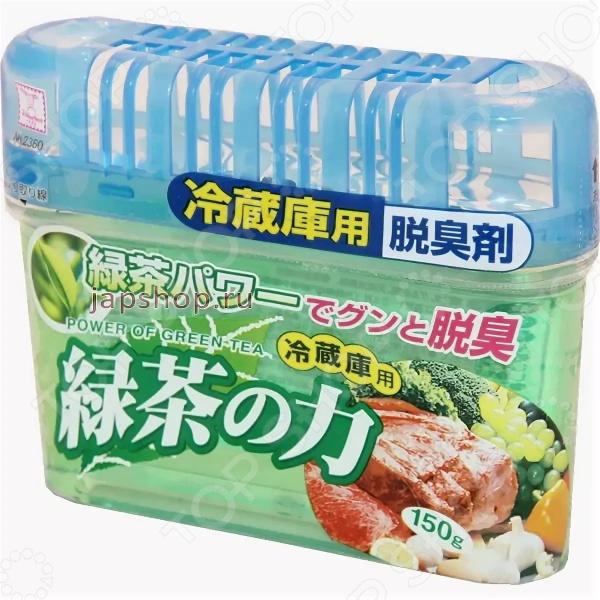Поглотитель запаха для холодильника Kokubo Deodorant Sumi Power Of Green Tea kokubo поглотитель запахов для холодильника сила зеленого чая 150г