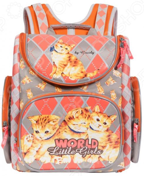 Рюкзак школьный Grizzly RA-771-1/1