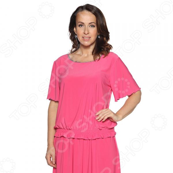 Блуза Pretty Woman «Лови момент». Цвет: розовый блуза pretty woman волшебный взгляд цвет розовый
