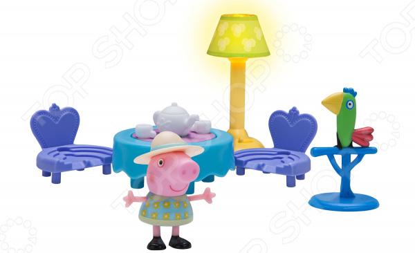 Игровой набор с фигуркой Peppa Pig «Пеппа и чайная церемония»