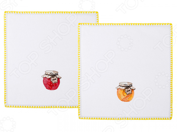 Набор салфеток для сервировки Santalino «Джем» 850-453-29 сидушка на стул santalino райский сад 850 818 5