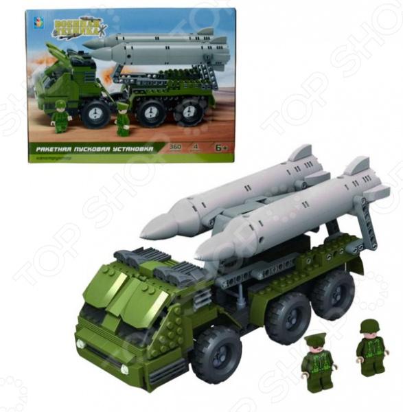 Конструктор игровой 1 Toy «Военная техника. Ракетная пусковая установка» конструктор военная техника cogo конструктор военная техника