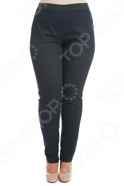 Брюки Лауме-Лайн «Изящество». Цвет: изумрудный брюки лауме лайн стройность цвет черный