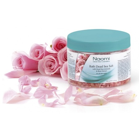 Купить Соль для ванны Наоми Мертвое море с экстрактом розы