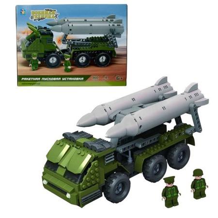Купить Конструктор игровой 1 Toy «Военная техника. Ракетная пусковая установка»