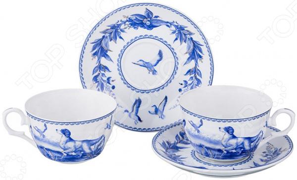 Чайная пара Lefard 69-2616 наборы для чаепития lefard чайная пара венская классика 230мл
