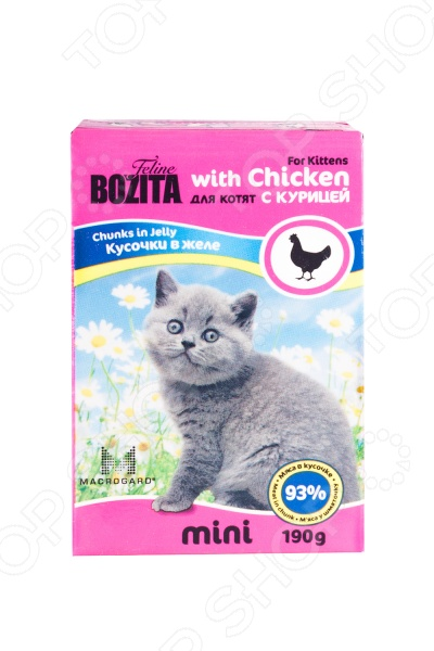 bozita Chunks in Jelly with Chicken Mini 37310