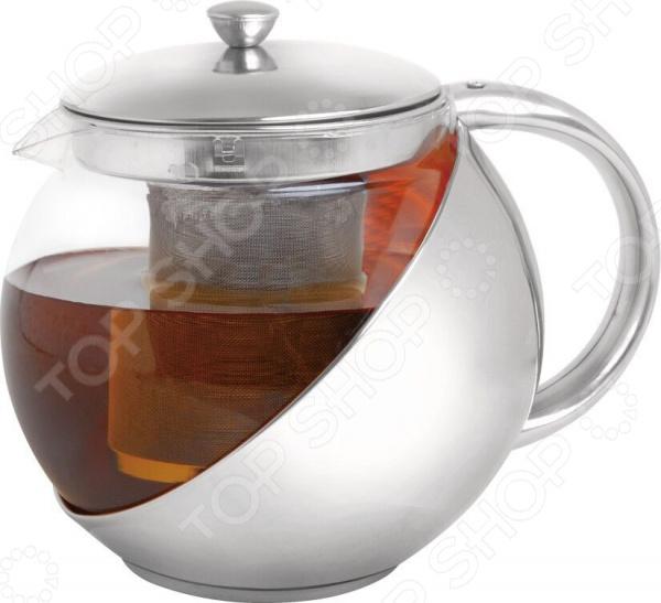 Чайник заварочный Queen Ruby «Шар» чайник заварочный latte 600мл с поршнем стеклянная колба