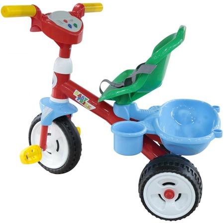 Купить Велосипед детский трехколесный Coloma Y Pastor со звуковым сигналом и ремешком Baby Trike