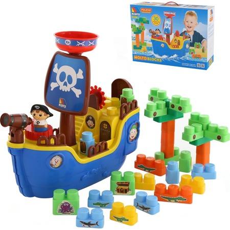 Купить Игровой набор-конструктор POLESIE «Пиратский корабль»