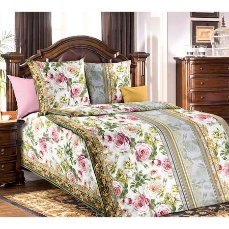 Купить Комплект постельного белья Белиссимо «Адель». Цвет: зеленый