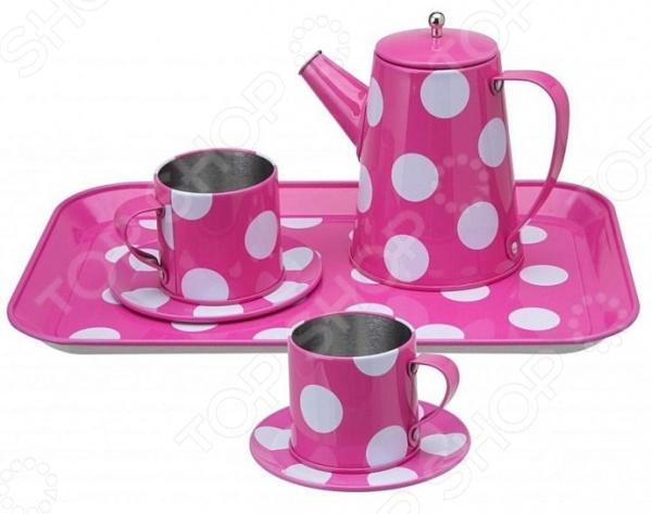 Набор чайный игрушечный Alex 705PD стеллар детская посуда чайный набор