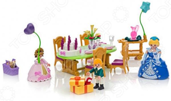 Игровой набор Playmobil «Замок Принцессы: Королевский день рождение» playmobil® конструктор playmobil замок принцессы большой замок принцессы
