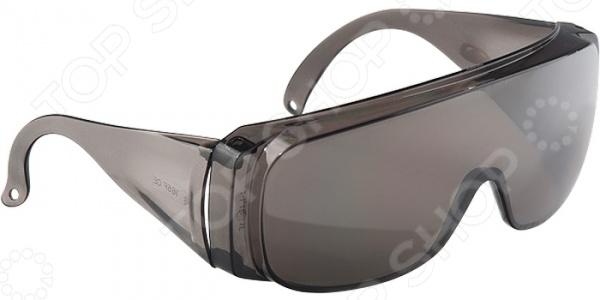 Фото - Очки защитные СИБРТЕХ 89156 очки сибртех 89156 защитные открытого типа затемненные ударопрочный поликарбонат