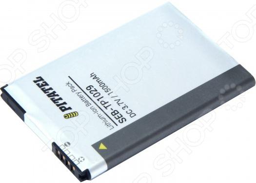 Аккумулятор для телефона Pitatel SEB-TP1029 аккумулятор для телефона pitatel seb tp209