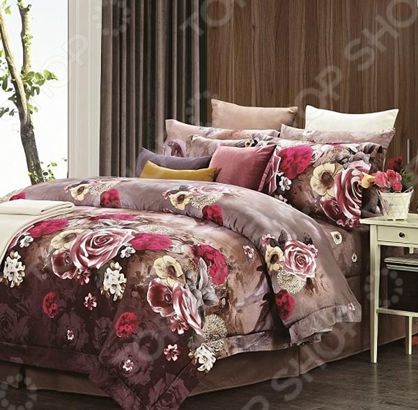 Комплект постельного белья «Ирис». 1,5-спальный для спальни