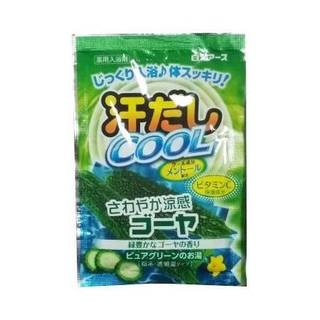 Купить Соль для ванны Hakugen Eartn Asedashi COOL с витамином С