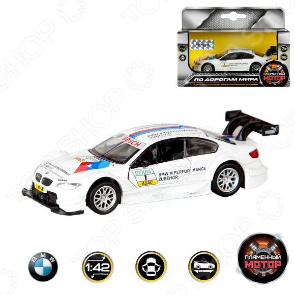 Модель автомобиля 1:42 Пламенный Мотор BMW M3 DTM