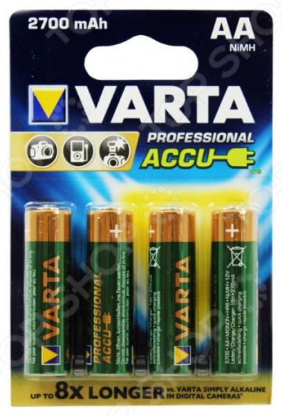 Батарея аккумуляторная VARTA AA 2700 мАч аккумуляторная батарея восток ск 1209 12v9ah