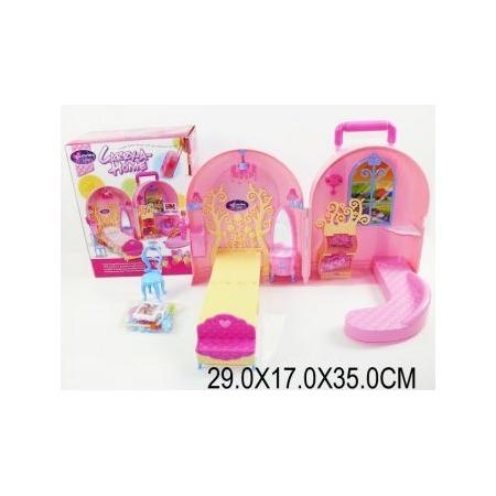 Купить Кукольный дом с аксессуарами Shantou Gepai 623750