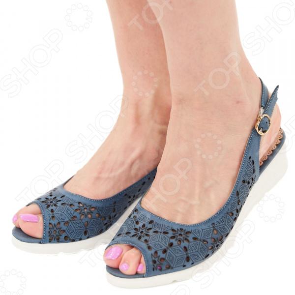 Туфли EGO «Комфорт». Цвет: синий