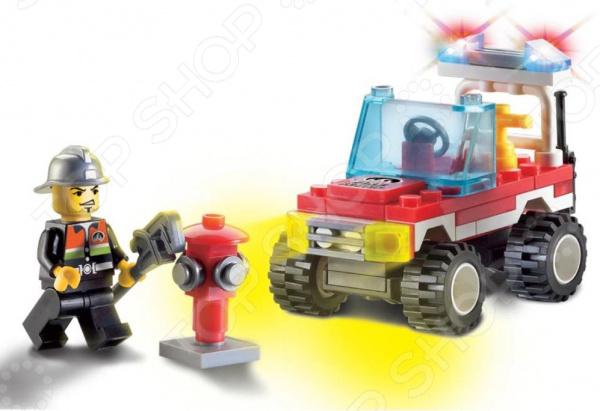 Конструктор игровой для ребенка Brick Машина пожарная 901 станет отличным подарком для юного конструктора! Игровой набор не только обучает и развлекает, но и помогает развивать мелкую моторику рук, логическое мышление и воображение ребенка. Комплект содержит 62 детали, с помощью которых можно собрать автомобиль службы пожарной безопасности! Все детали выполнены из нетоксичных полимерных материалов, поэтому полностью безопасны для ребенка. Рекомендуется для детишек от 3 лет и старше.