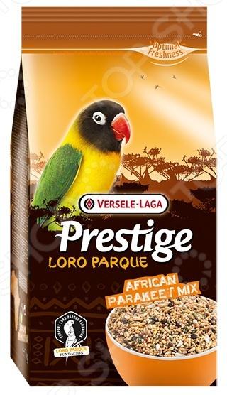 Корм для попугаев средних размеров Versele-Laga Prestige Loro Parque African Parakeet Mix лакомства дл птиц versele laga prestige палочки дл канареек с йцом и ракушечником 2х30г