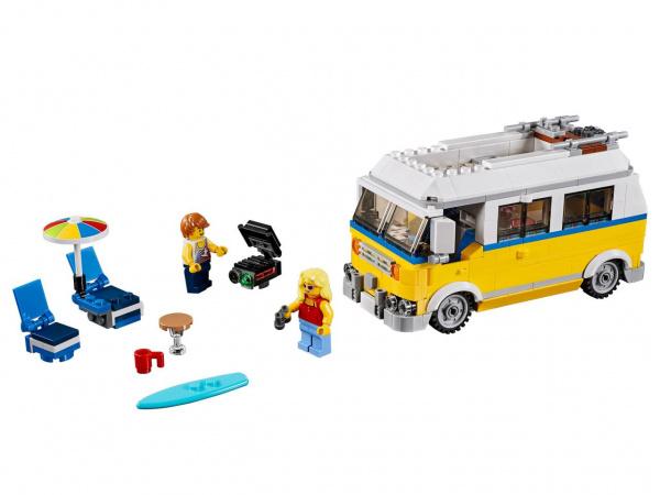 Конструктор-игрушка LEGO Creator «Фургон серферов»