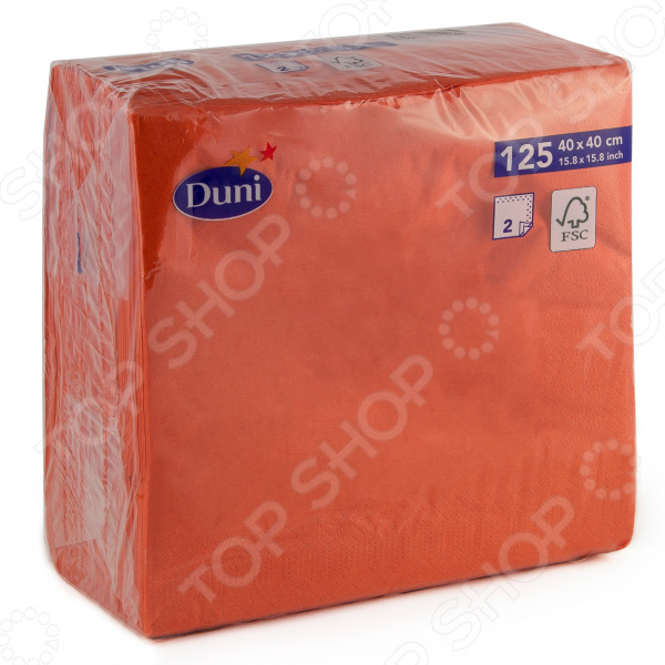 Салфетки бумажные Duni 180415