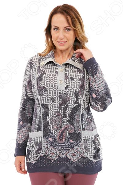 Блуза LORICCI «Мелитта». Цвет: серый снуды loricci снуд