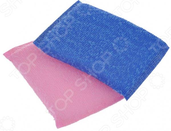 Набор губок для мытья посуды Хозяюшка «Мила: Кактус» набор губок для мытья посуды you ll love универсальная уборка цвет розовый 3 шт