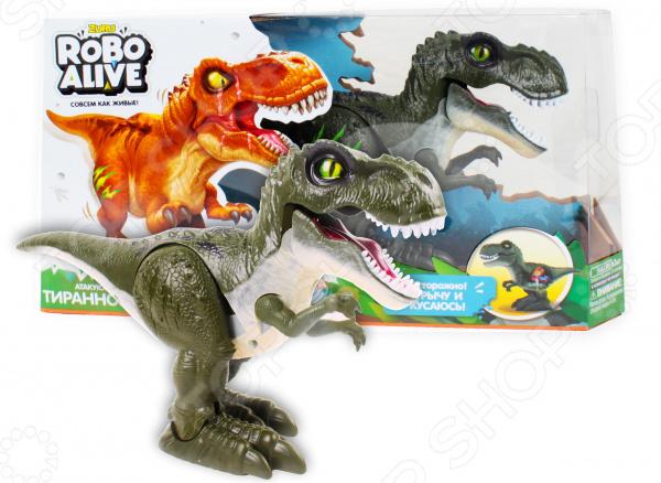 Игрушка-робот интерактивная Zuru Robo Alive «Робо-Тираннозавр» робот donic newgy robo pong 2050