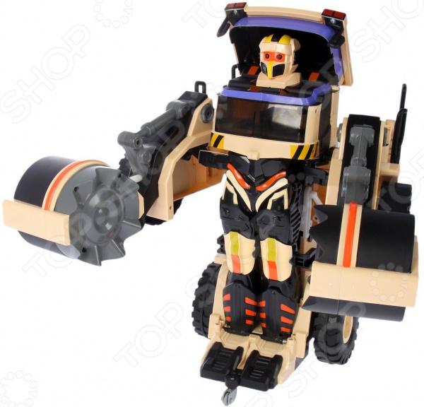 Робот-трансформер на радиоуправлении 1 Toy «Строительный каток»